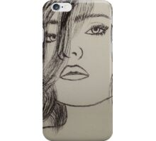 Etched Girl iPhone Case/Skin