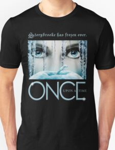 Once Upon a Time, Iced Over, season 4, OUAT,  Storybrooke has frozen over T-Shirt