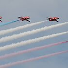 The Red Arrows - Big Seven - Morecambe 2012 by The Walker Touch
