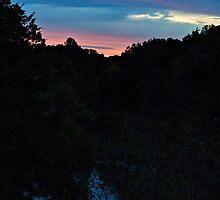 Dawn at Palisades State Park by Scott Hendricks
