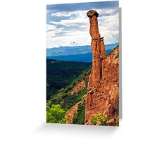 beauty of earth pyramides Greeting Card