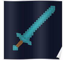 Minecraft Sword Poster