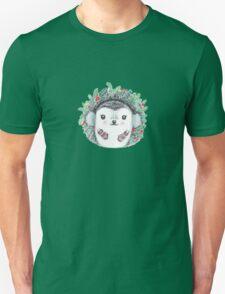 Winter Hedgehog - Watercolor - Willow Heath T-Shirt