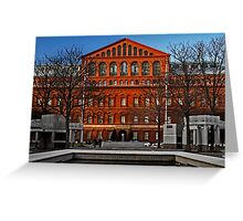 National Building Museum Greeting Card