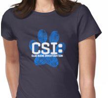 Blue's Clues CSI Womens Fitted T-Shirt