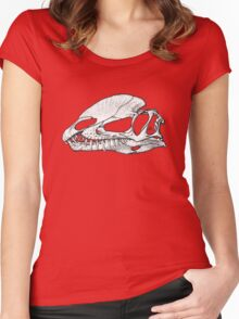 Twin Crests, 2 Women's Fitted Scoop T-Shirt
