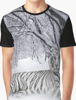 Tiger in the Snow Graphic T-Shirt