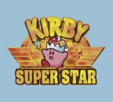Kirby Super Star (SNES) Title Screen by AvalancheShirts