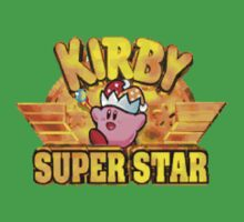 Kirby Super Star (SNES) Title Screen Baby Tee