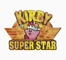 Kirby Super Star (SNES) Title Screen Kids Tee