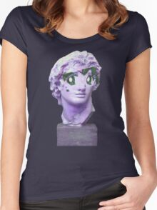 Anime Caesar Women's Fitted Scoop T-Shirt