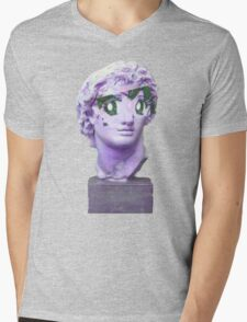 Anime Caesar Mens V-Neck T-Shirt