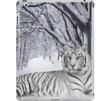 Tiger in the Snow iPad Case/Skin