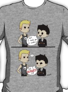 Moriarty burned the cookie T-Shirt