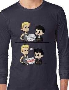 Moriarty burned the cookie Long Sleeve T-Shirt