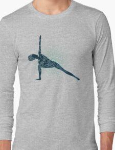 Yoga Om Chakras Mindfulness Meditation Zen 5 Long Sleeve T-Shirt