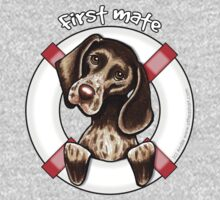 German Shorthaired Pointer :: First Mate One Piece - Short Sleeve