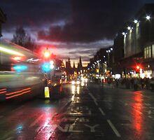 Princes Street, Edinburgh by LBMcNicoll