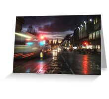 Princes Street, Edinburgh Greeting Card