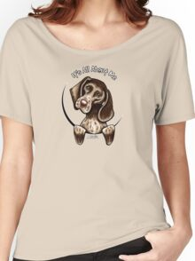 German Shorthaired Pointer :: It's All About Me Women's Relaxed Fit T-Shirt