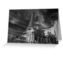 Las Vegas 019 BW Greeting Card
