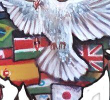 Peace by Jody Steel Sticker