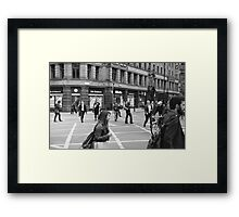 Life Outdoors Framed Print