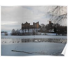 Linlithgow Palace in Winter. #2 Poster