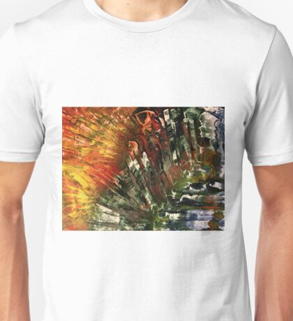 Waterfall in the canyon Unisex T-Shirt