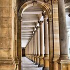 Karlovy Vary - Colonnades by Eugenio