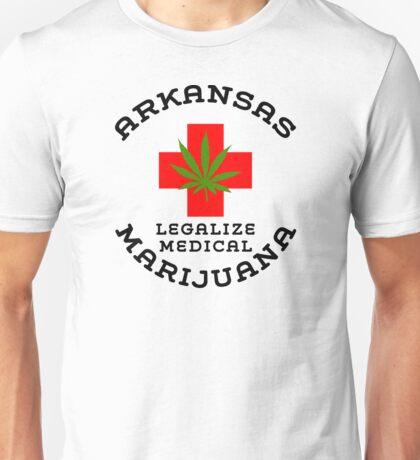 Arkansas Legalize Medical Marijuana Unisex T-Shirt
