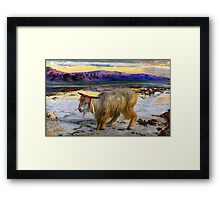 The Scapegoat by Holman Hunt Framed Print