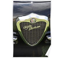 Alfa Romeo 1900 C SS Coupé Touring Tipo 55 (1954) Poster