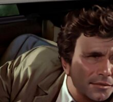 PETER FALK 1973 (COLUMBO) Sticker
