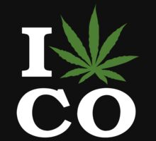 I Cannabis Colorado by MarijuanaTshirt