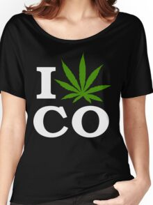 I Cannabis Colorado Women's Relaxed Fit T-Shirt