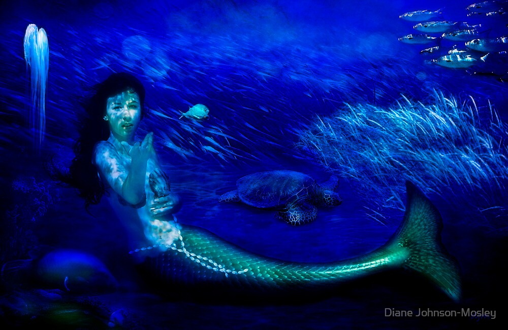 Deep Blue World by Diane Johnson-Mosley