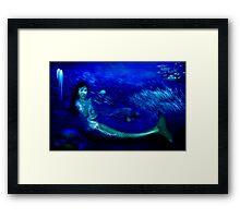 Deep Blue World Framed Print