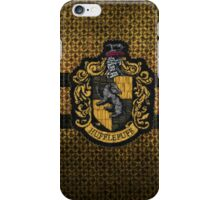 Hufflepuff Knitted iPhone Case/Skin