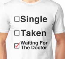Waiting for The Doctor Unisex T-Shirt