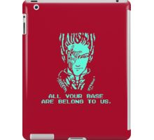 All Your Base - Red T iPad Case/Skin