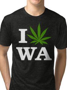 I Cannabis Washington Tri-blend T-Shirt