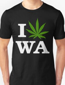 I Cannabis Washington Unisex T-Shirt