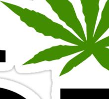 I Marijuana Oregon Sticker