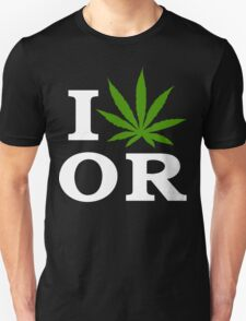 I Cannabis Oregon Unisex T-Shirt