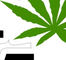 I Marijuana Massachusetts Sticker