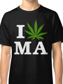 I Cannabis Massachusetts Classic T-Shirt
