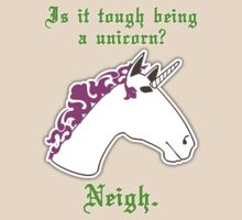 Is it tough being a unicorn? by Elizabeth Fahlman