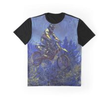 """Getting Air"" Motocross Champion Graphic T-Shirt"