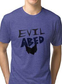 Evil Abed Tri-blend T-Shirt